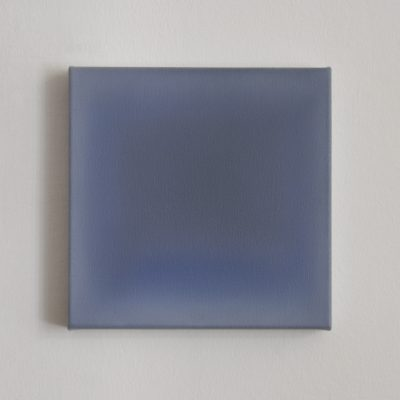 o.T. (blue and grey), 30 x 30 cm, Öl auf Leinwand, IV 2017