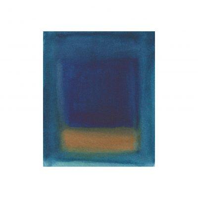 o. T., Aquarell auf Papier, 10,3 x 8,5 cm, 2014
