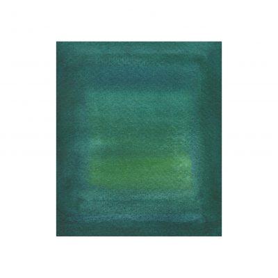 o. T., Aquarell auf Papier, 10 5 x 9 cm, 2017