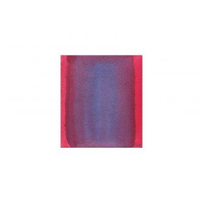 o. T., Aquarell auf Papier, 6,8 x 6 cm, 2014