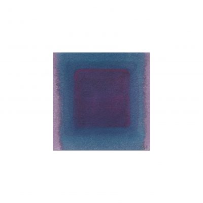 o. T., Aquarell auf Papier, 7,3 x 7,2 cm, 2014