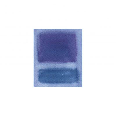 o. T., Aquarell auf Papier, 7,6 x 6,3 cm, 2011