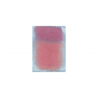 o. T., Aquarell auf Papier, 7 x 5,1 cm, 2012