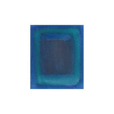 o. T., Aquarell auf Papier, 8,4 x 7 cm, 2011