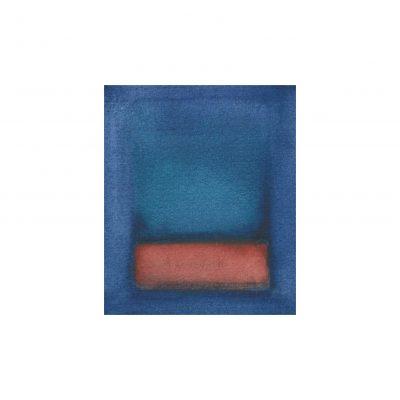 o. T., Aquarell auf Papier, 8,6 x 7,2 cm, 2015