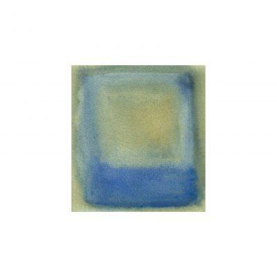 o. T., Aquarell auf Papier, 8 x 7,3 cm, 2012