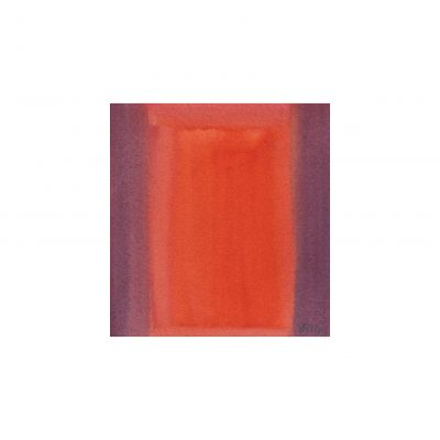 o. T., Aquarell auf Papier, 8 x 7,6 cm, 2014