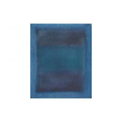o. T., Aquarell auf Papier, 9,2 x 7,5 cm, 2015