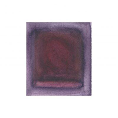 o. T., Aquarell auf Papier, 9,3 x 8,3 cm, 2014