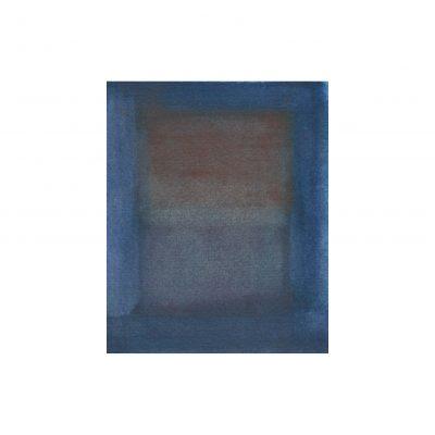 o. T., Aquarell auf Papier, 9,4 x 7,6 cm, 2015