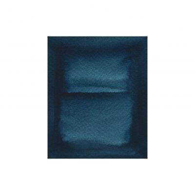 o. T., Aquarell auf Papier, 9,4 x 7,7 cm, 2017