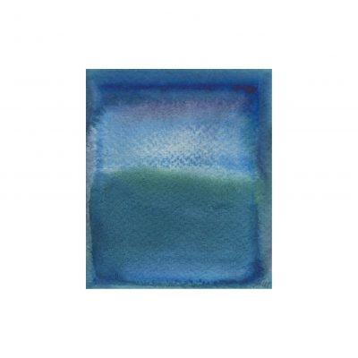 o. T., Aquarell auf Papier, 9,4 x 7,8 cm, 2014