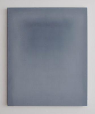 white bones, 110 x 90 cm, Öl und Kohlepigment auf Leinwand, 2017