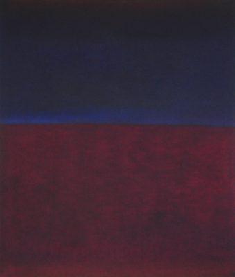 Agay I, 100 x 85 cm, Öl auf Leinwand, 2009