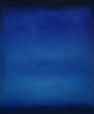 blue and darkblue, 120 x 100 cm, Öl auf Leinwand, 2011