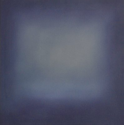 blue and grey, 50 x 50 cm, Öl auf Leinwand, 2016