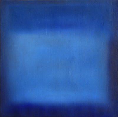 bluesquare, 50 x 50 cm, Öl auf Leinwand, 2012