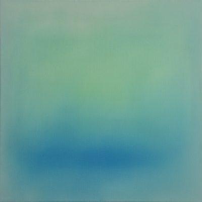 bright green, 50 x 50 cm, Öl auf Leinwand, 2016