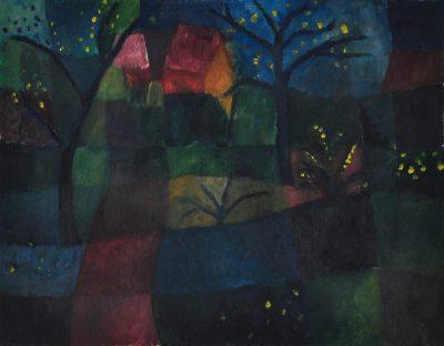 Frühlingsnacht, Öl auf Leinwand, 35 x 45 cm, ca. 2006