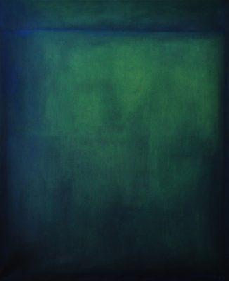 green, 120 x 90 cm, Öl auf Leinwand, 2009