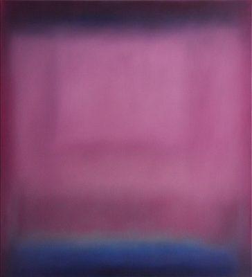 pink, 110 x 100 cm, Öl auf Leinwand, 2015
