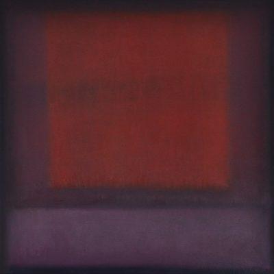 redsquare, 50 x 50 cm, Öl auf Leinwand, 2010