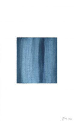 translucence No.19, 24 x 15 cm, Aquarell auf Papier, VIII-2018