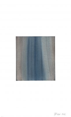 translucence No.10, 24 x 15 cm, Aquarell auf Papier, VIII-2018
