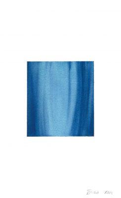 translucence No.13, 24 x 15 cm, Aquarell auf Papier, VIII-2018