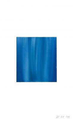 translucence No.12, 24 x 15 cm, Aquarell auf Papier, VIII-2018