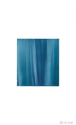 translucence No.5, 24 x 15 cm, Aquarell auf Papier 300 g, VIII-2018