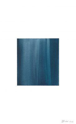 translucence No.9, 24 x 15 cm, Aquarell auf Papier, VIII-2018