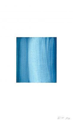 translucence No.20, 24 x 15 cm, Aquarell auf Papier, VIII-2018