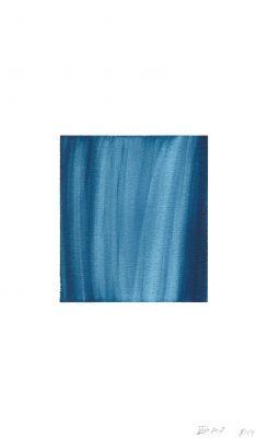 translucence No.7, 24 x 15 cm, Aquarell auf Papier, VIII-2018
