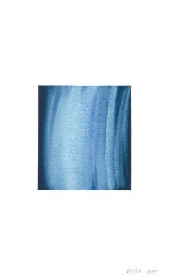 translucence No.16, 24 x 15 cm, Aquarell auf Papier, VIII-2018