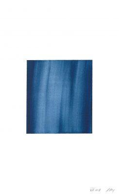 translucence No.3, 24 x 15 cm, Aquarell auf Papier 300 g, VIII-2018