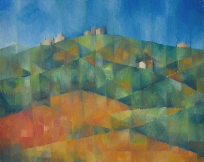 Toskana, 40 x 50 cm, Öl auf Leinwand, 2007