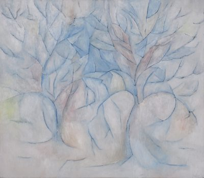 Winter, 70 x 80 cm, Öl auf Leinwand, 2007