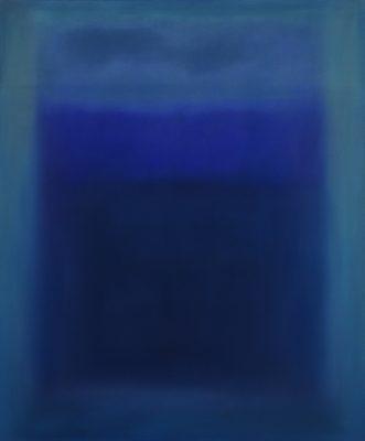 blues, Öl auf Leinwand, 120 x 100 cm, 2011