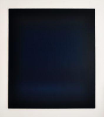 dark blue, 140 x 120 cm, Öl auf Leinwand, XI-2018