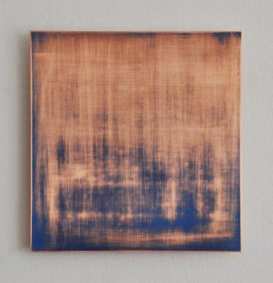 Vanishing No1, 30 x 28,8 cm, Öl auf Kupfer, 2018