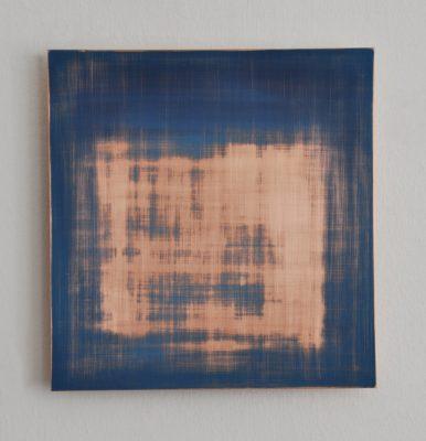Vanishing No2, 30 x 28,8 cm, Öl auf Kupfer, 2018