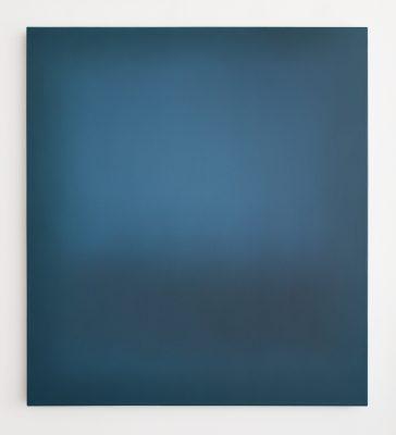 petrol and blue, 100 x 90 cm, Öl auf Leinwand, III-2019