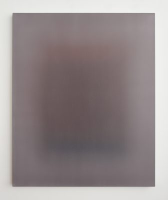 maroon and white, 110 x 90 cm, Öl auf Leinwand, VII-2019