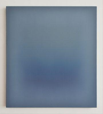 brighter blue, 90 x 80 cm, Öl auf Leinwand, IX-2019