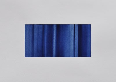 untitled, 9 x 18 (28 x 36) cm, Aquarell auf Fabriano Artistico 300g, 2020