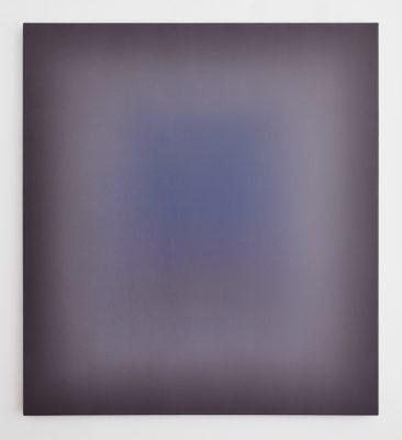 maroon and blue, 110 x 100 cm, Öl auf Leinwand, VIII-2019