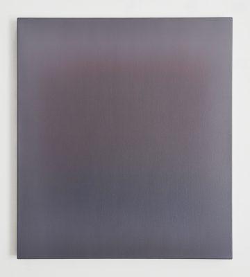 white, maroon and blue, 90 x 80 cm, Öl auf Leinwand, VIII-2019